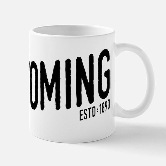 Wyoming Script Mug