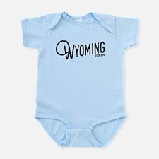 Wyoming Script Onesie