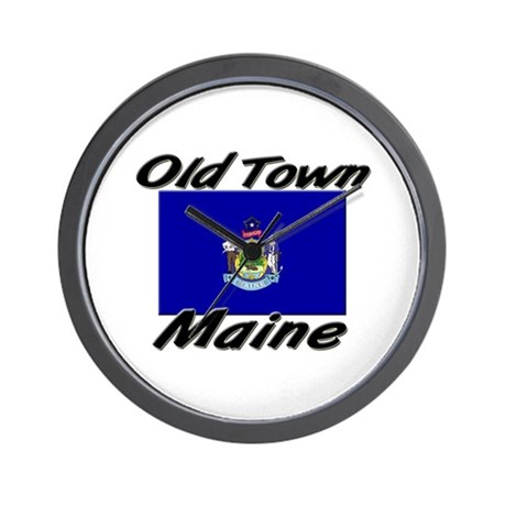 Old Town Maine Wall Clock