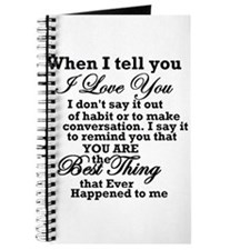 best thing that ever Journal