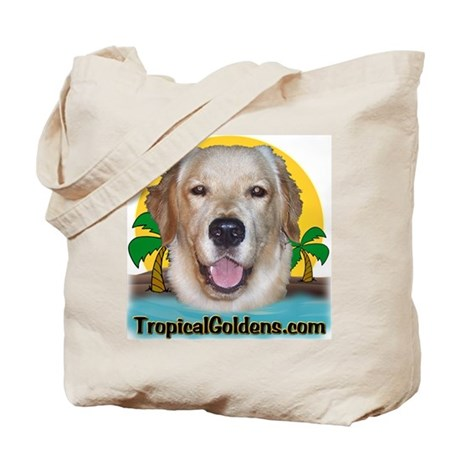 Tropical Goldens Tote