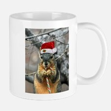 Christmas Squirrel Mugs