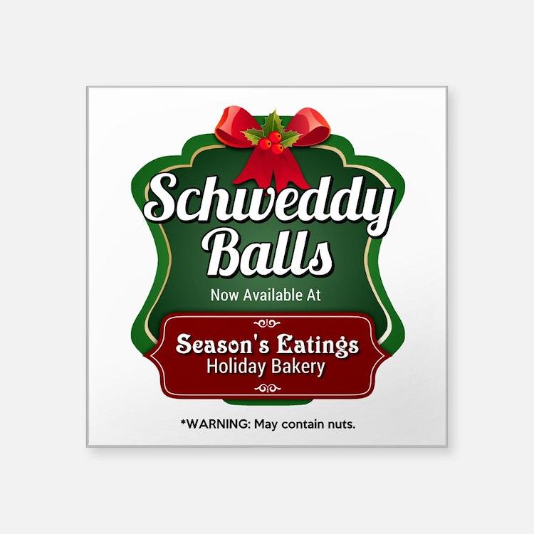 Schweddy Balls Sticker