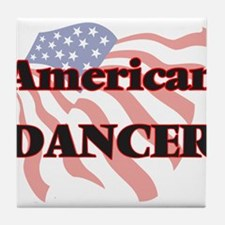 American Dancer Tile Coaster