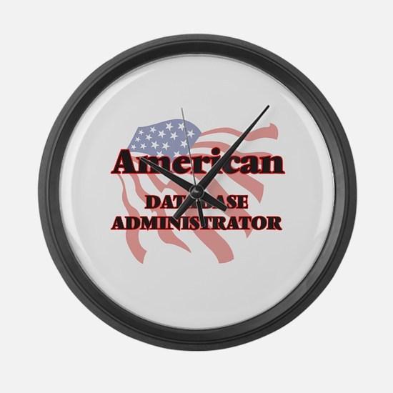 American Database Administrator Large Wall Clock
