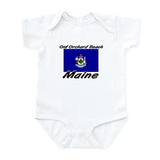 Old Orchard Beach Maine Infant Bodysuit