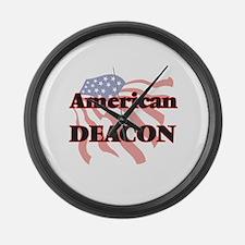 American Deacon Large Wall Clock