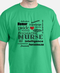Psychiatric Nurse Pride-T-Shirt