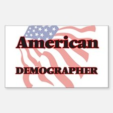 American Demographer Decal