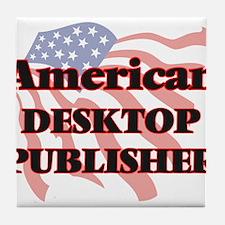 American Desktop Publisher Tile Coaster