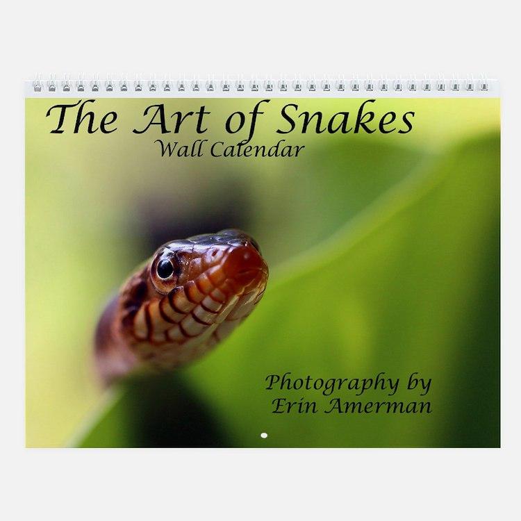 The Art Of Snakes 3 Wall Calendar