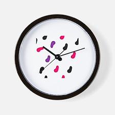 Cute Jellybean Wall Clock