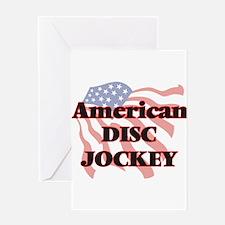 American Disc Jockey Greeting Cards