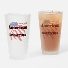 American Dispatcher Drinking Glass