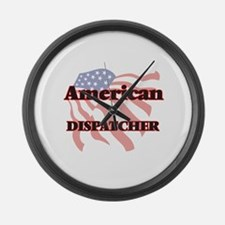 American Dispatcher Large Wall Clock
