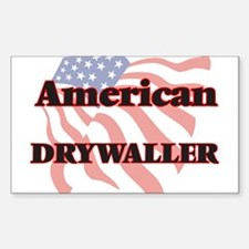 American Drywaller Decal