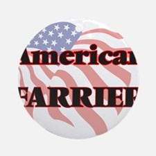 American Farrier Round Ornament
