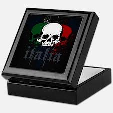 Italian Skulls Keepsake Box