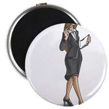 "Business Woman 2.25"" Magnet (10 pack)"