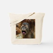 Cute Baby orangutan Tote Bag