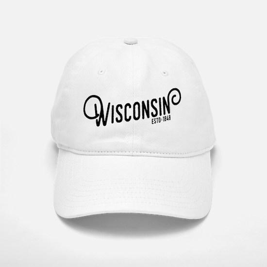 Wisconsin Baseball Baseball Cap