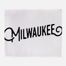 Milwaukee Wisconsin Throw Blanket
