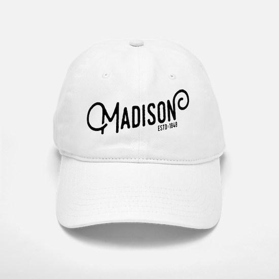 Madison Wisconsin Baseball Baseball Cap