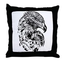 Wedge Tailed Eagle (Aquila audax) Throw Pillow
