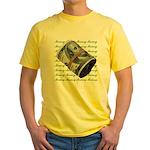 MONEY MONEY MONEY Yellow T-Shirt