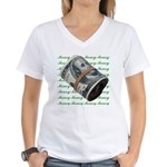 MONEY MONEY MONEY Women's V-Neck T-Shirt