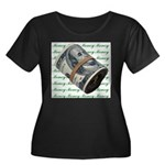 MONEY MONEY MONEY Women's Plus Size Scoop Neck Dar