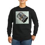 MONEY MONEY MONEY Long Sleeve Dark T-Shirt