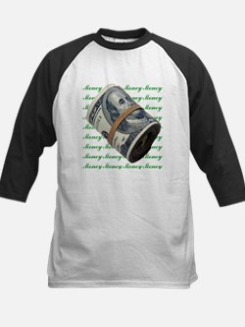 MONEY MONEY MONEY Kids Baseball Jersey