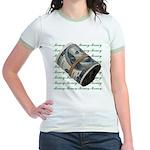 MONEY MONEY MONEY Jr. Ringer T-Shirt
