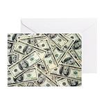 MONEY MONEY MONEY Greeting Cards (Pk of 20)