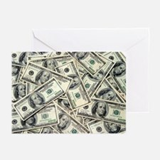 MONEY MONEY MONEY Greeting Cards (Pk of 20)