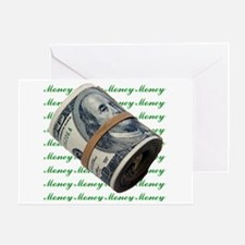 MONEY MONEY MONEY Greeting Card