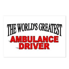 """The World's Greatest Ambulance Driver"" Postcards"