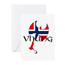 Norway Viking Greeting Cards (Pk of 10)