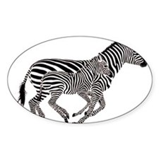 Zebra Power Decal