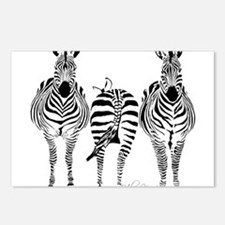 Cute Animal Postcards (Package of 8)