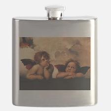 Cute Cherub Flask