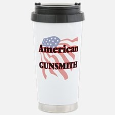 American Gunsmith Stainless Steel Travel Mug