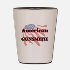 American Gunsmith Shot Glass