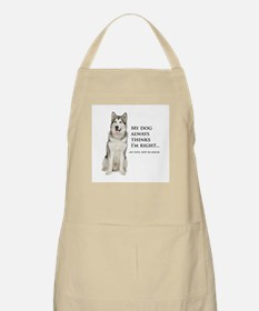 Husky vs Wife Apron