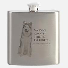 Husky vs Wife Flask