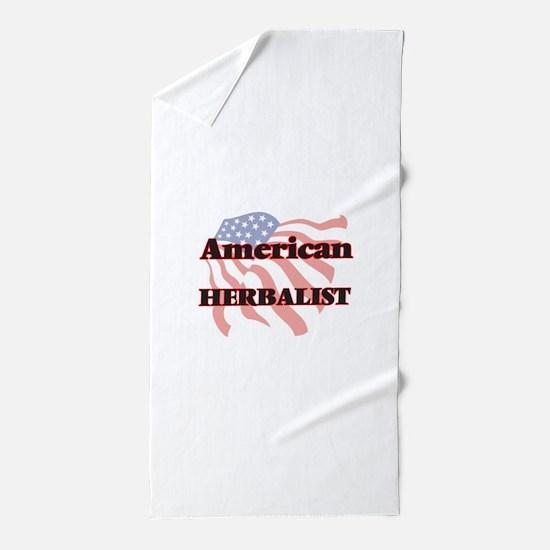 American Herbalist Beach Towel