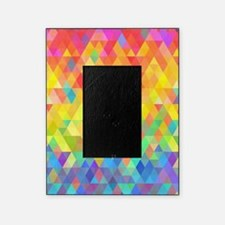 Rainbow Diamond Pattern Picture Frame