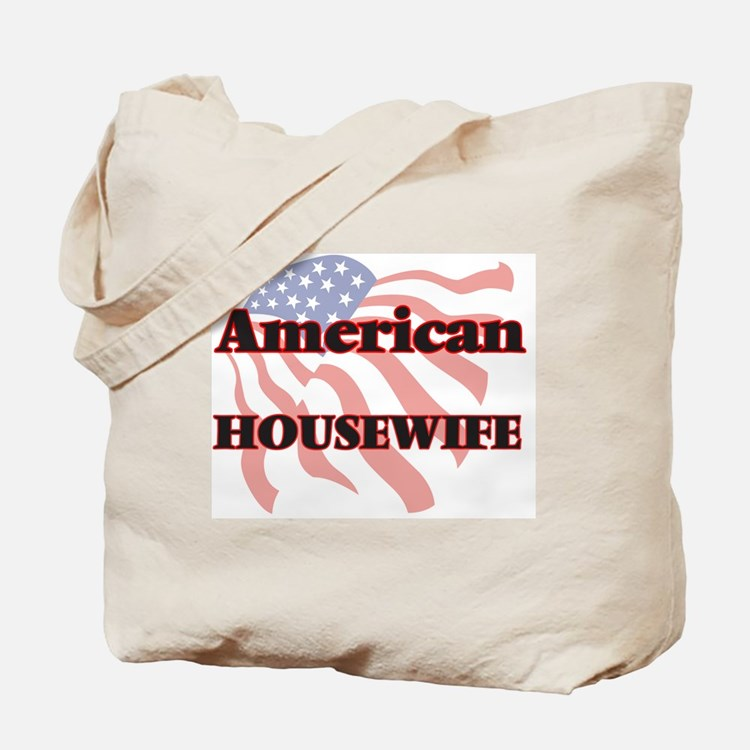 Cute Housewife Tote Bag