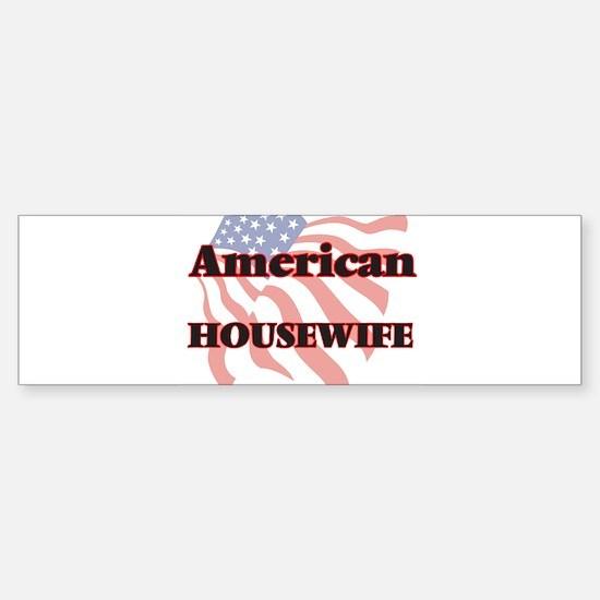 American Housewife Bumper Bumper Bumper Sticker
